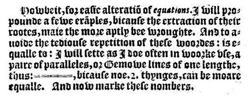The_Whetstone_of_Witte_Euqual_Sign